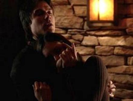 File:Damon & Elena Blood Sharing.jpg