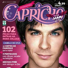 Capricho — May 6, 2012, Brazil, Ian Somerhalder