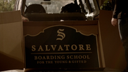 816-Salvatore Boarding Scool Sign