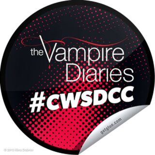 This is The Vampire Diaries CW Hashtag.
