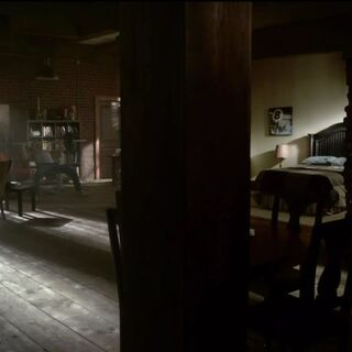 Alaric's apartment in <span style=