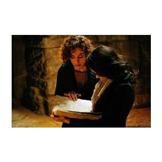 Sheila and Bonnie cast a spell together.