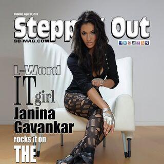 Steppin Out — Aug 24, 2010, United States, Janina Gavankar