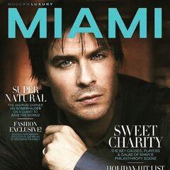 Modern Luxury Miami #204 — Nov 2018, United States, Ian Somerhalder