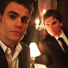 Ian Somerhalder, Paul Wesley September 3, 2015