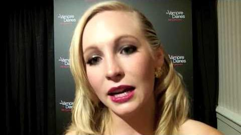 Candice Accola Celebrates 100 Episodes of THE VAMPIRE DIARIES