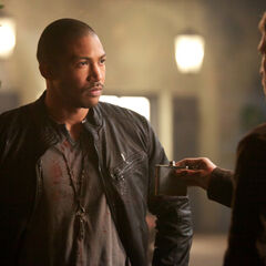 Klaus and Marcel's truce