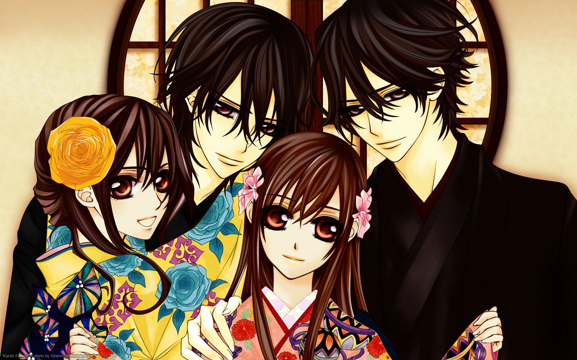 Vampire Knight Zero And Yuki And Kaname Juri  Kaname  Yuki  and Haruka