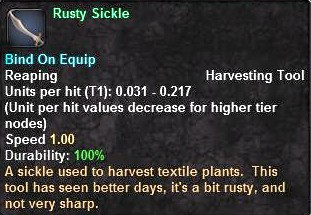 Rusty Sickle
