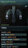Ragnarok Carrier blueprint