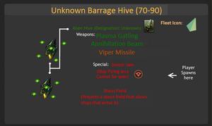 Unknown Barrage Hive (70-90)