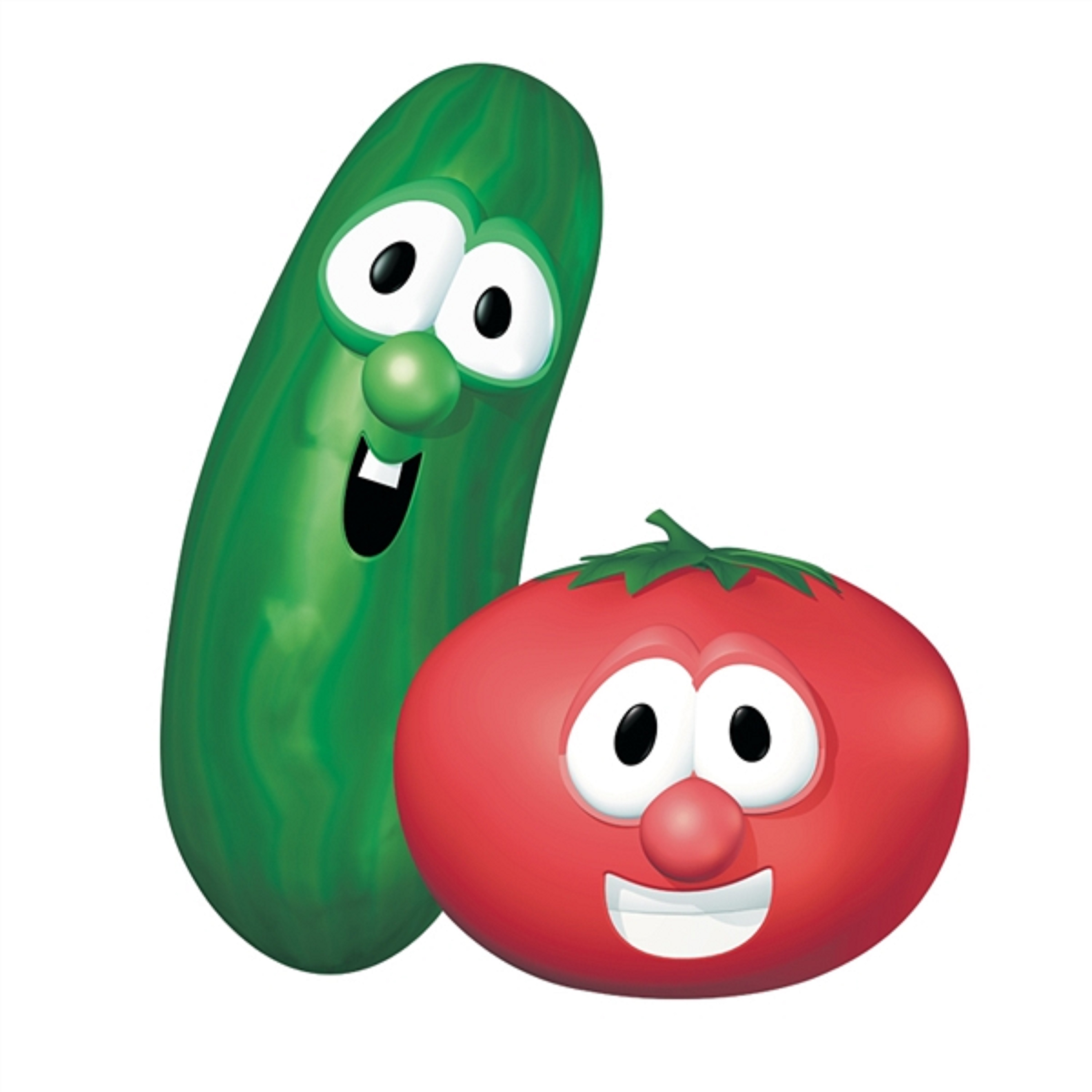 Which VeggieTales design is better by JetFox89 on DeviantArt Veggie Tales Larry The Cucumber And Bob The Tomato