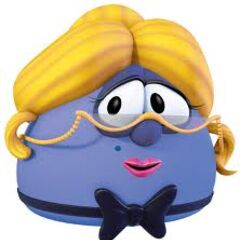 Madame Blueberry as the Maitre D in <i>