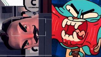Gmod Scary GUMBALL VS HELLO NEIGHBOR Mod