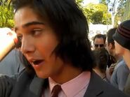 Avan and his hair at KCA