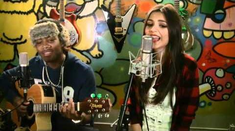 Baby It's Cold Outside- Victoria Justice & Leon Thomas III Cover