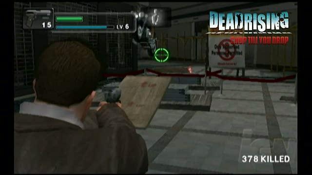 Dead Rising Chop Til You Drop Nintendo Wii Trailer - Spill Blood Trailer