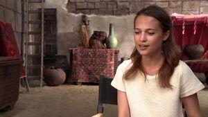 Seventh Son - Alicia Vikander Interview