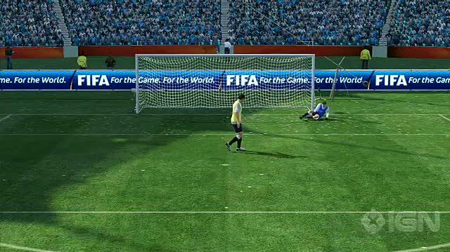 2010 FIFA World Cup South Africa Xbox 360 Video - Advanced Penalty Kick Saving Tutorial