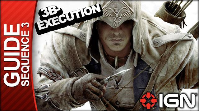 Assassin's Creed 3 - Sequence 3 Execution is Everything - Walkthrough (Part 10)