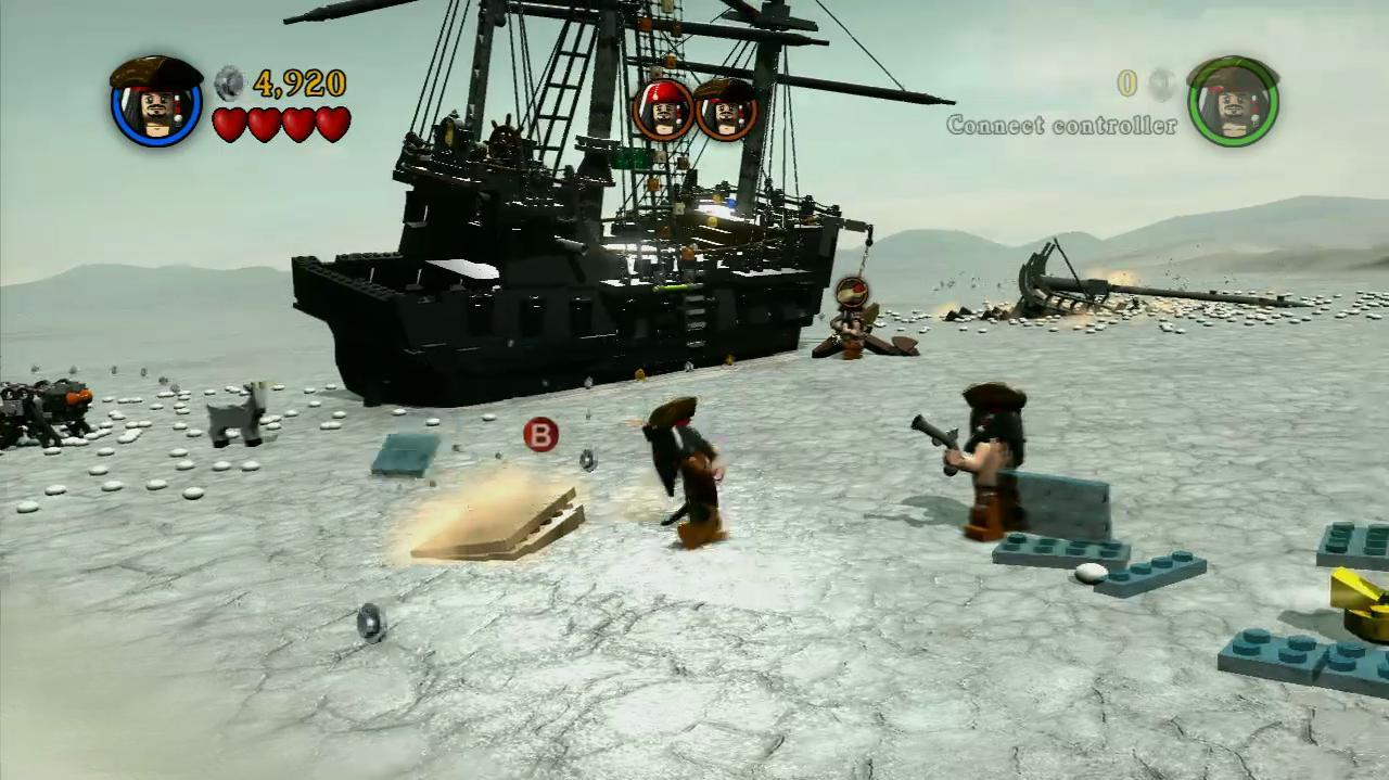 NextGenWalkthroughs LEGO PotC - Pt. 3 - Ch. 2 Davy Jones' Locker