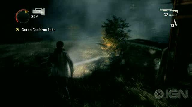 Alan Wake X360 - Walkthrough - Alan Wake - Nightmare Difficulty - Episode 6 - Raining Vehicles