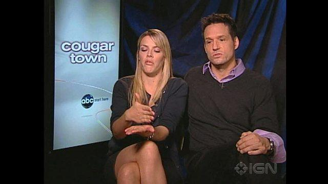 Cougar Town TV Interview - Busy Philipps & Josh Hopkins