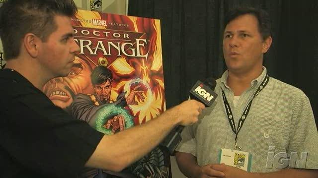 Doctor Strange DVD Interview - SDCC 07 Interviews