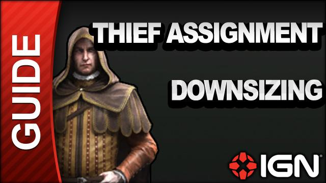 Assassin's Creed Brotherhood Walkthrough - Thief Assignments Downsizing