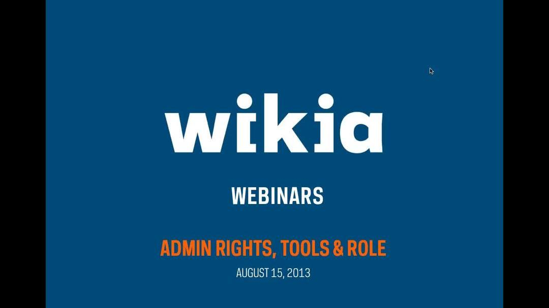 Admin Rights, Tools & Roles - Webinar