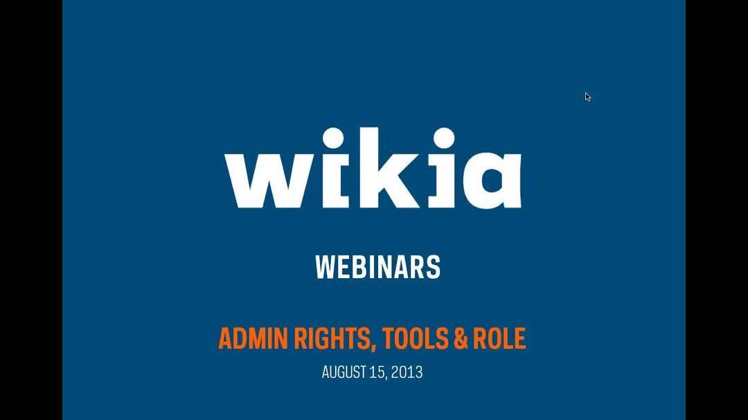 Admin Rights, Tools & Roles - Webinar