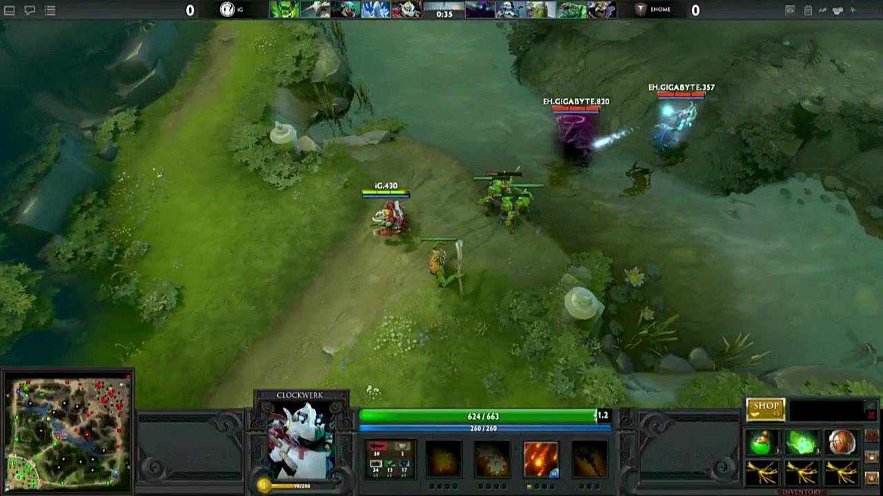 Gamescom DOTA 2 Match Start Gameplay