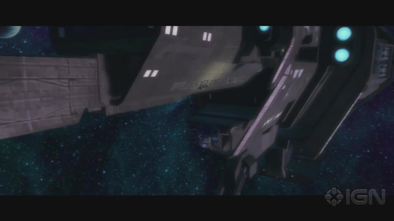 Halo Combat Evolved Anniversary - Intro Cut Scene - Gameplay