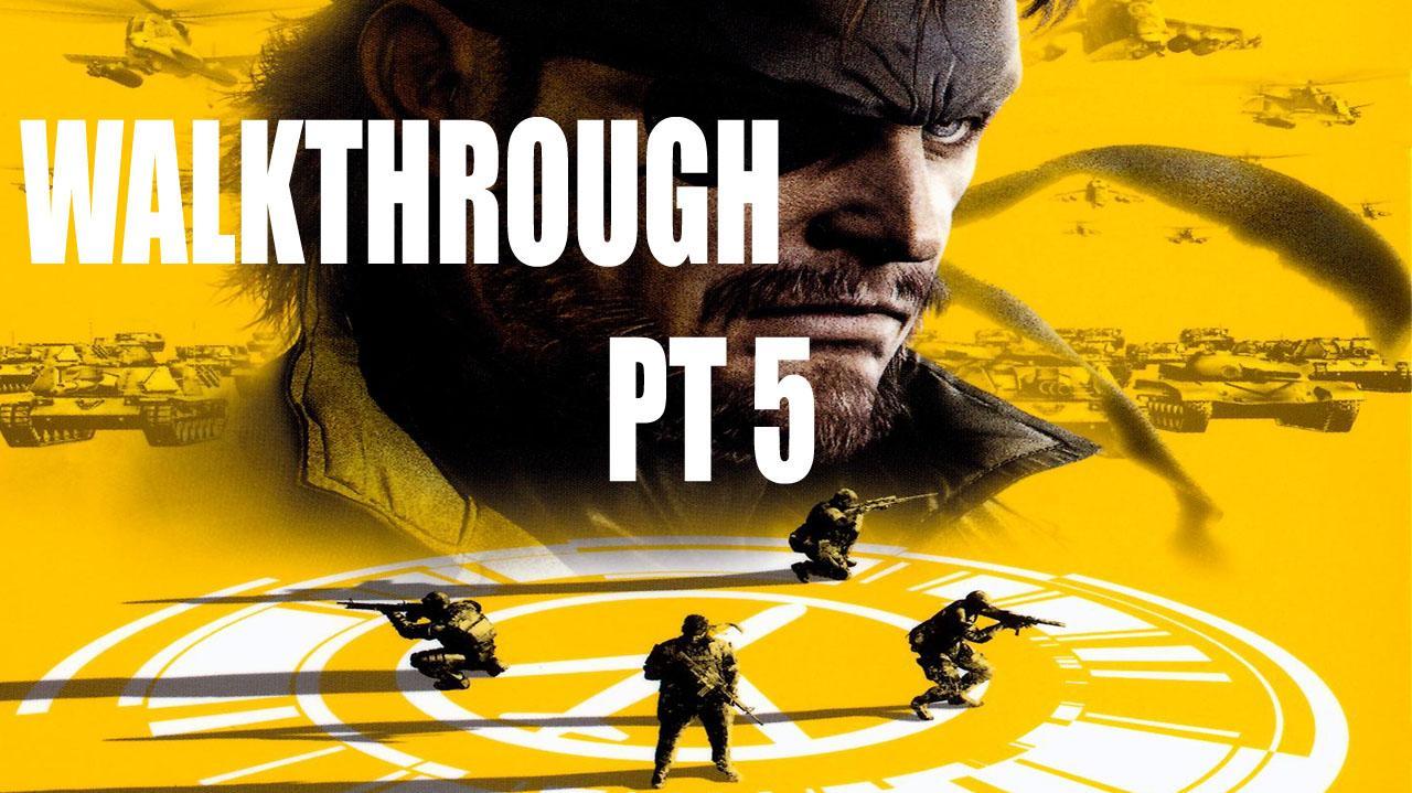 Metal Gear Solid Peace Walker HD - Mission 1 Briefing Files - Gameplay