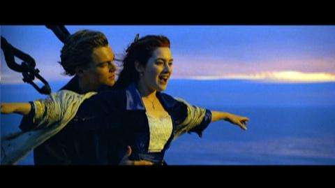 Titanic 3-D Re-Release (1997) - Clip I'm Flying