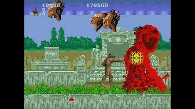 Altered Beast Nintendo Wii Clip - Die Monster!