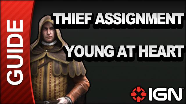Assassin's Creed Brotherhood Walkthrough - Thief Assignments Young At Heart