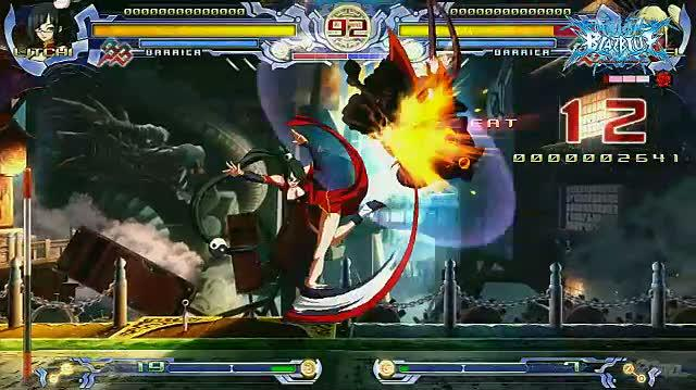 BlazBlue Calamity Trigger (Limited Edition) PlayStation 3 Gameplay - Litchi Montage