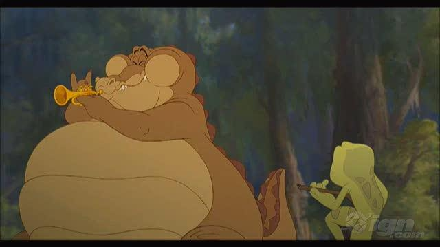 """The Princess and the Frog Movie Video - """"Leaping Love Story"""" Featurette"""