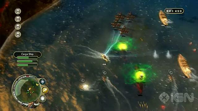 Aqua Naval Warfare Xbox Live Trailer - Weaponary Video