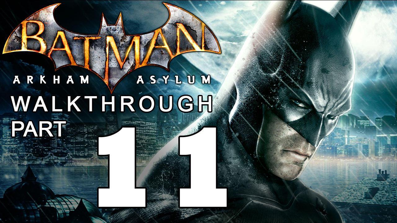 Batman Arkham Asylum Walkthrough Part 11 of 14 Killer Croc