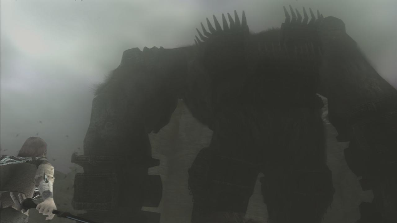 Shadow of the Colossus First Colossus