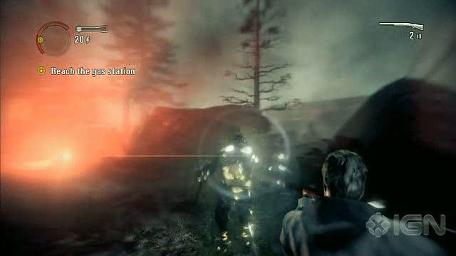 Alan Wake X360 - Walkthrough - Alan Wake - Nightmare Difficulty - Episode 1 - Stucky