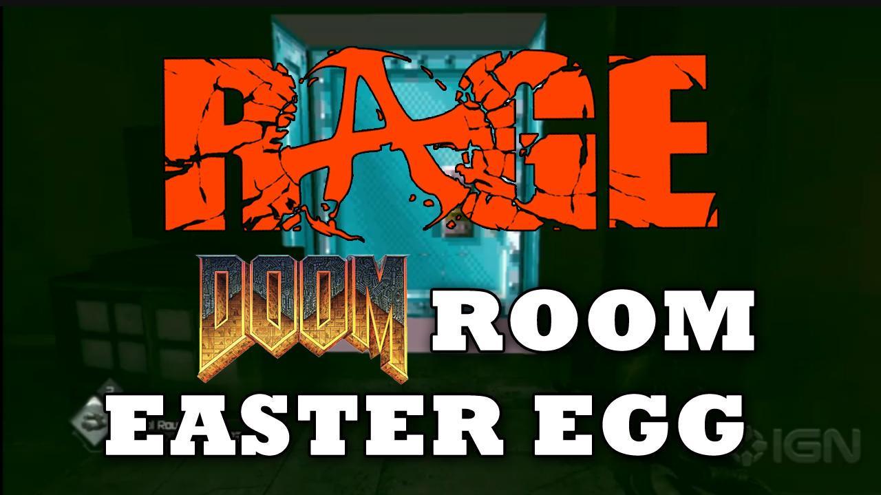 Rage Secret DOOM Room Easter Egg HD
