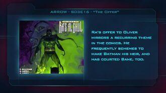 """Arrow S03E16 """"The Offer"""" - Fan Brain"""
