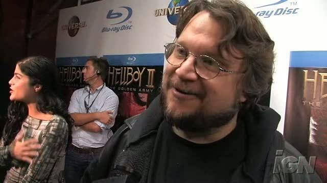 Hellboy II The Golden Army Blu-ray Interview - DVD Red Carpet Event