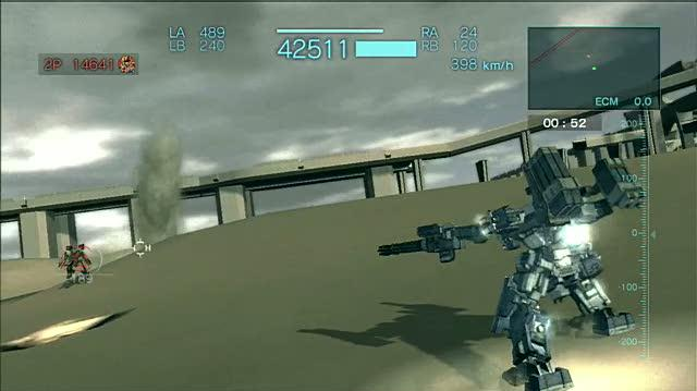 Armored Core for Answer PlayStation 3 Gameplay - Arena Match