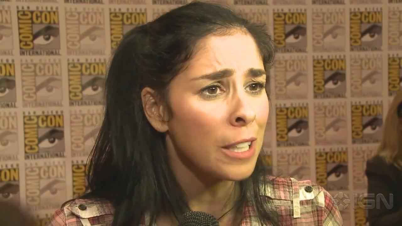 Sarah Silverman - Wreck-It-Ralph Interview - Comic-Con 2012