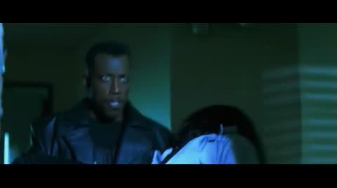 Blade - escaping form the hospital