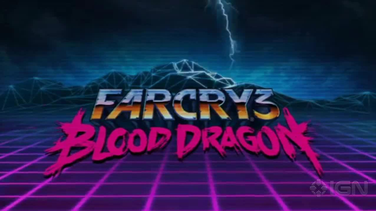 Far Cry 3 Blood Dragon Teaser Trailer
